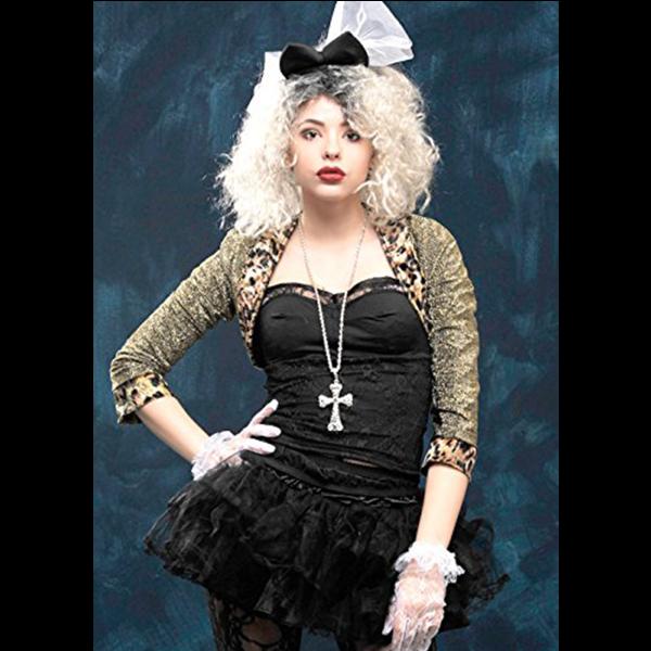 Wild Child costume année 80 style Madona