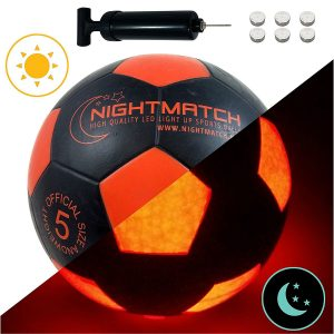 ballon de football lumineux NightMatch