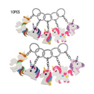 porte-clés unicornes