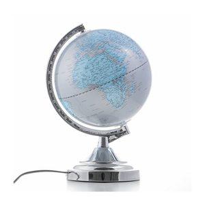 lampe planète terre tactile