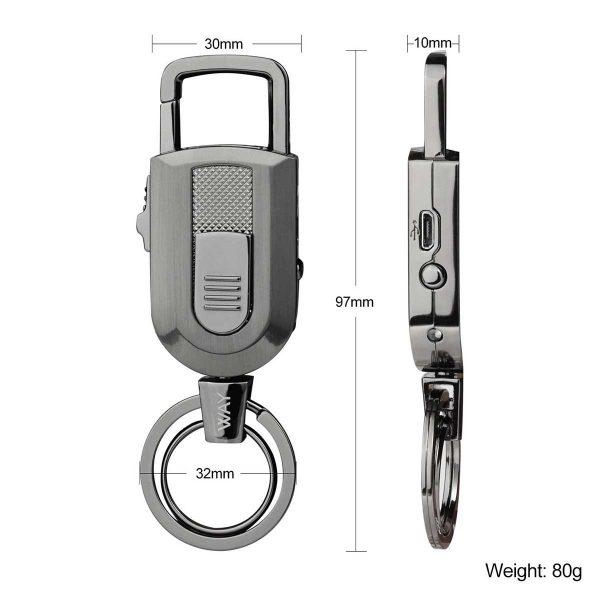 porte-clés Briquet USB VVAY