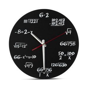 Horloge Mathématique