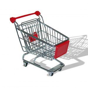 mini chariot de courses